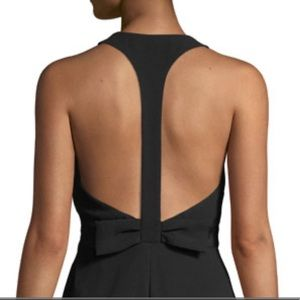 Karl Lagerfeld Bow-Back Sleeveless Dress